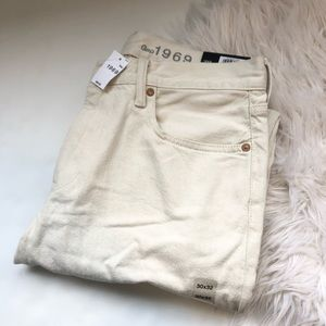 Gap Straight Fit Off White Men's Jeans Size 30X32